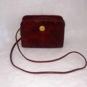Vintage 1980s Albert Nipon CrossBody Handbag